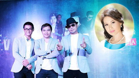 Cẩm Ly lần đầu đứng chung sân khấu với MTV