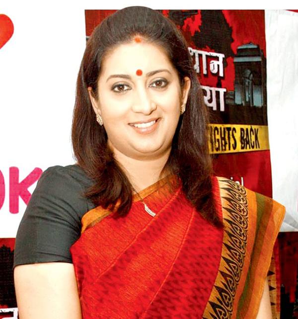 Smriti Zubin, người mẫu, Bộ trưởng, Ấn Độ, nữ quyền, phụ nữ
