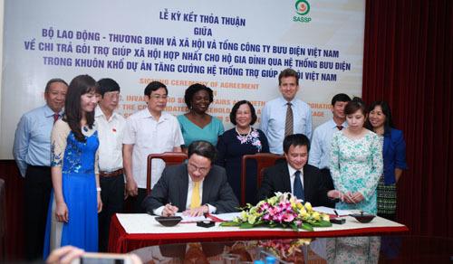 Bưu điện Việt Nam, gói trợ giúp xã hội, SASSP, VietnamPost, Nguyễn Bắc Son