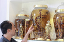Kho rượu sâm khổng lồ của đại gia Đà Nẵng