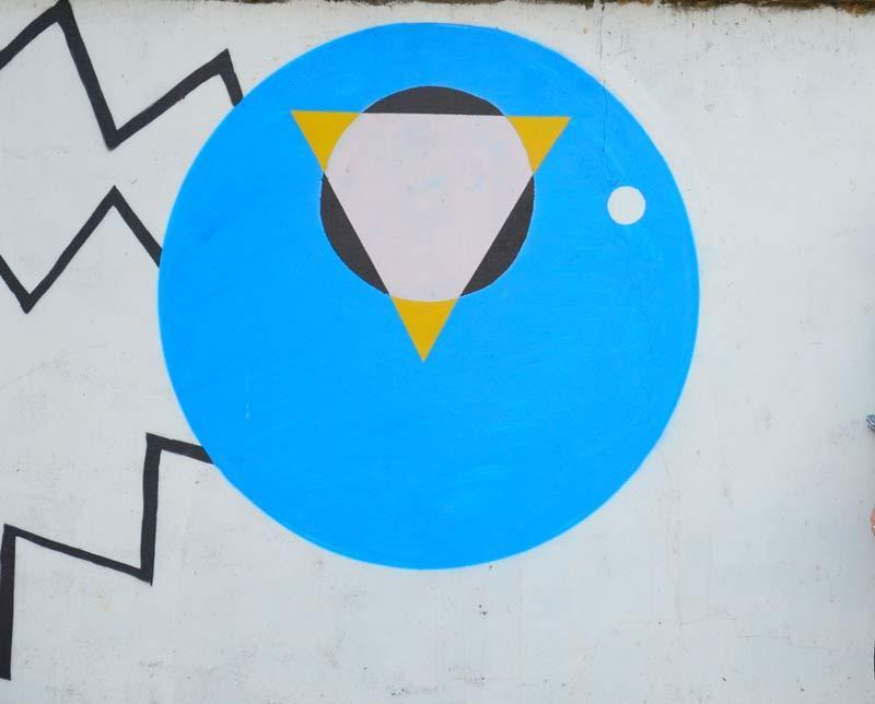 chùa Thiên Niên, Graffiti