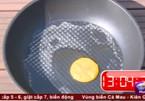 Rán trứng và thịt chỉ nhờ sức nóng gần 40 độ C ở Hà Nội
