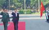 Hình ảnh Bộ trưởng Quốc phòng Hàn Quốc tới Hà Nội