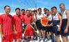 Hải quân VN-Philippines chơi bóng ở Song Tử Đông