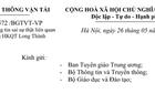 Bộ Giao thông đề nghị thẩm tra học vị tiến sĩ ông Trần Đình Bá