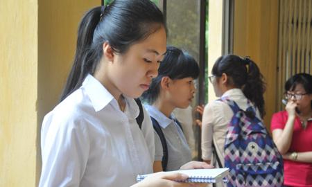 thí sinh, đề thi, dự thi, đại học, ĐH Quốc gia Hà Nội