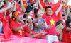 CĐV Việt Nam tại Singapore: Cháy hết mình vì U23