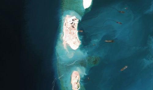 Biển Đông, TQ, cải tạo đảo, Trường Sa, Đối thoại Shangri-La