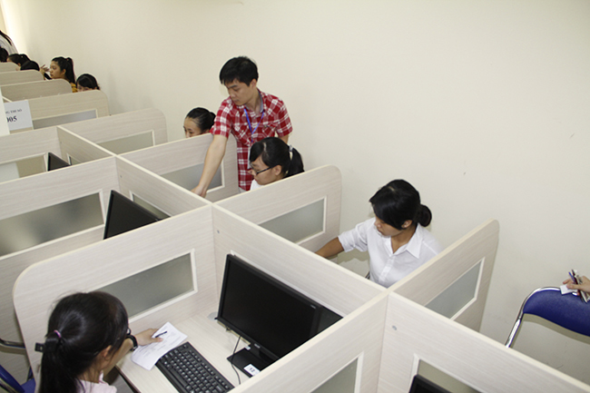 Tỷ lệ thí sinh đến thi đánh giá năng lực cao kỷ lục