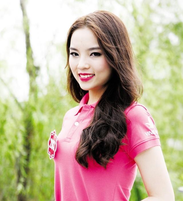 Khuyết điểm trên khuôn mặt Hoa hậu Kỳ Duyên
