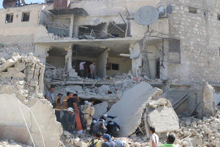 Syria: 71 người chết do bom thùng