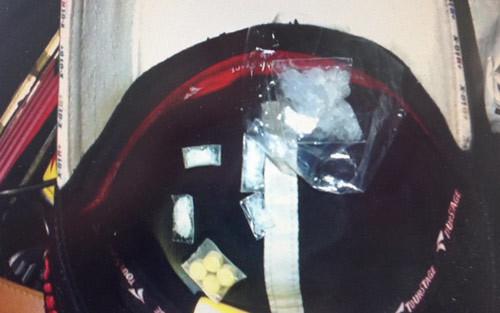 Chống đua xe, CS 113 phát hiện ma túy và hung khí