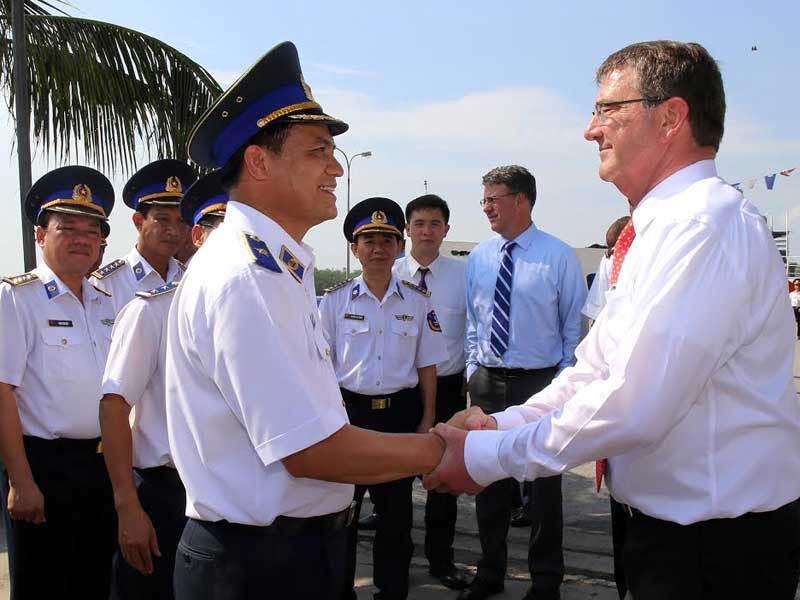 cảnh sát biển, tàu tuần tra, Bộ trưởng Quốc phòng, Mỹ