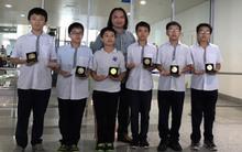 6 học sinh tuổi từ 12 đạt huy chương vàng toán châu Á