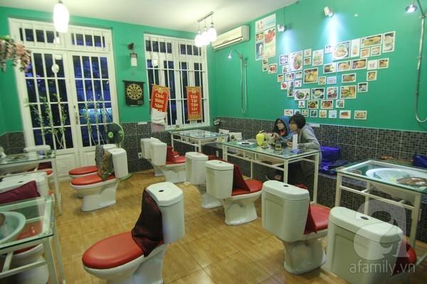 cafe toilet
