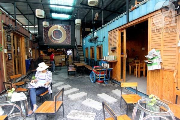 quán cà phê container