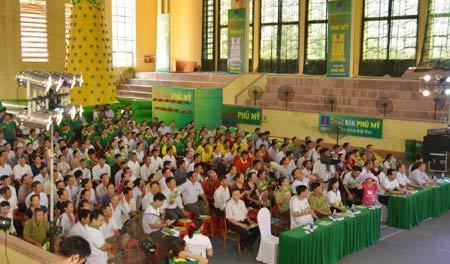 Sôi động Hội mùa Phú Mỹ khu vực Bắc Trung Bộ