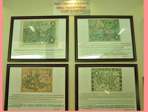 triển lãm, bản đồ, Hoàng Sa, Trường Sa, Bộ Thông tin và Truyền thông