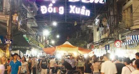 Chuẩn bị di dời một phần chợ đêm Đồng Xuân