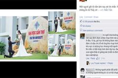 Xôn xao chuyện chụp ảnh cưới ở trường học