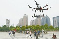 Trung Quốc dùng máy bay không người lái chống gian lận thi cử