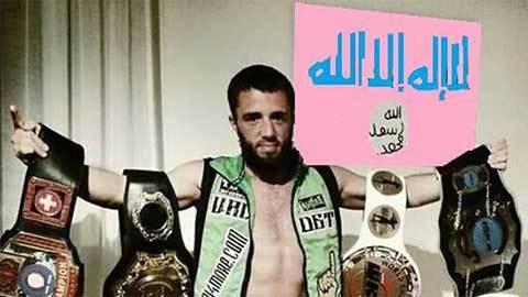 Nhà vô địch Muay Thái thế giới gia nhập IS