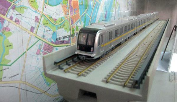 Mẫu tàu TQ sản xuất chạy ở đường sắt trên cao HN