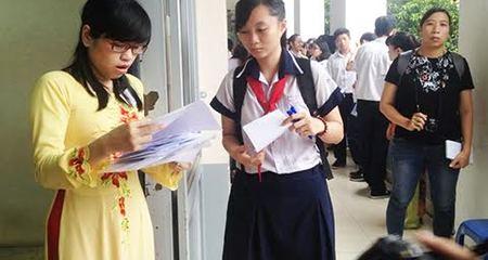 Hơn 77.000 thí sinh dự thi vào lớp 10 ở TP.HCM