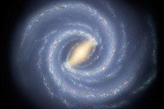 Công bố khối lượng của cả dải Ngân hà