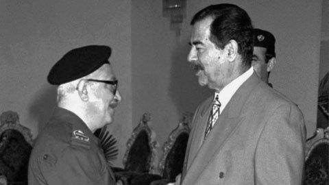 gương mặt nổi bật, nhất thời, Saddam chết trong tù
