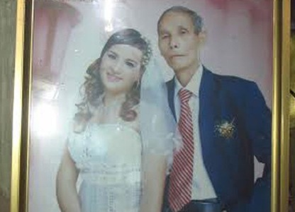 chồng già vợ trẻ; Bình Lục; Hà Nam; đám cưới