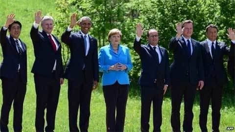 G7, Nga, trừng phạt