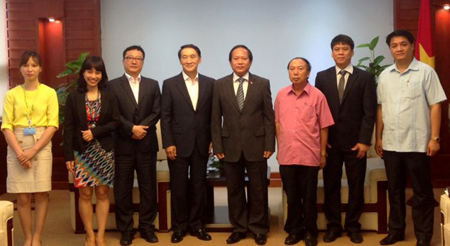 Thứ trưởng Trương Minh Tuấn, Samsung