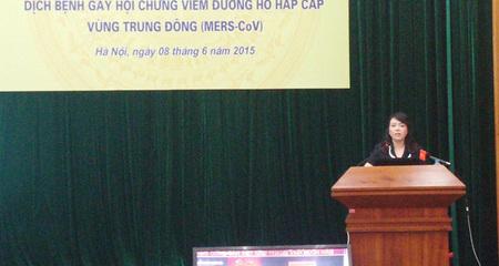 Bộ trưởng Y tế: Khả năng Mers vào VN khá cao