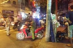 Nổ súng giữa trung tâm Sài Gòn bắt nghi can ma túy