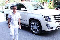 """Xe """"cơ bắp"""" Cadillac mới sắm của Đàm Vĩnh Hưng giá bao nhiêu?"""