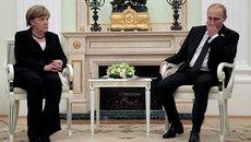 Khi người đàn bà thép Merkel lớn tiếng với Putin