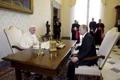Cận cảnh cuộc gặp riêng giữa Giáo hoàng và Putin