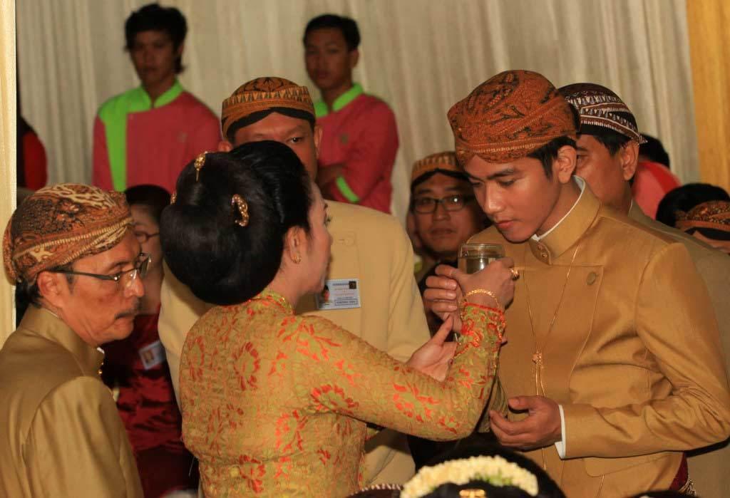Indonesia, Tổng thống, đám cưới