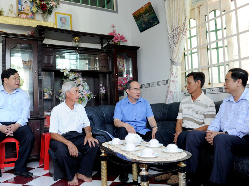 Nguyễn Thiện Nhân, HTX kiểu mới, luật HTX, nông dân, nông nghiệp, tái cơ cấu, Bảo vệ thực vật An Giang