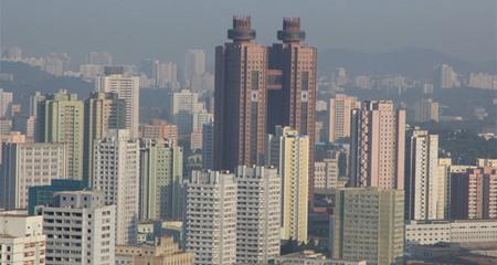 Khách sạn nổi tiếng ở Triều Tiên bị cháy