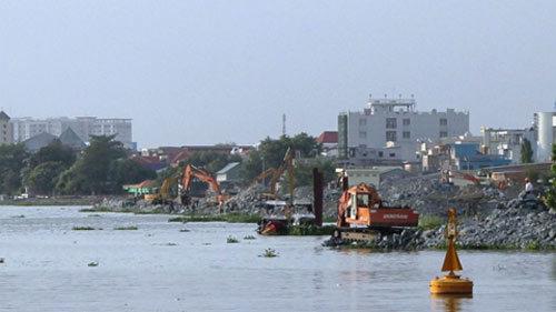 Thẩm định lại báo cáo môi trường lấp sông Đồng Nai
