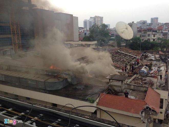 Hỏa hoạn tại Đài Truyền hình Việt Nam