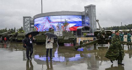 Nga mở 'siêu thị quân sự' tại Moscow