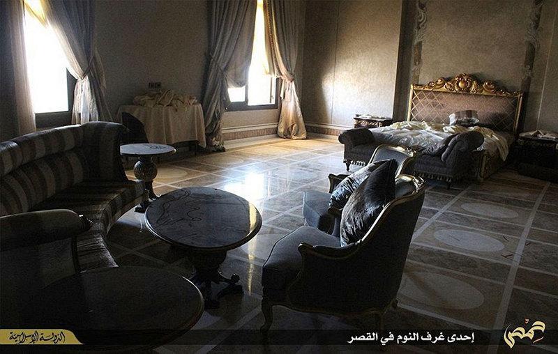 IS, thủ lĩnh, lâu đài, cung điện, Syria