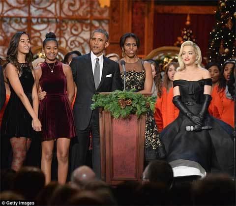con gái, Obama