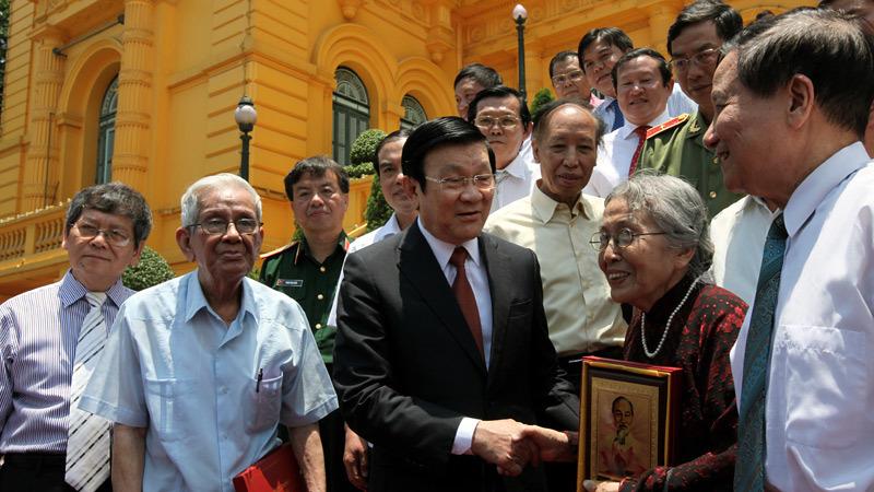 Chủ tịch nước, Trương Tấn Sang, báo chí, tăng trưởng, đại hội đảng
