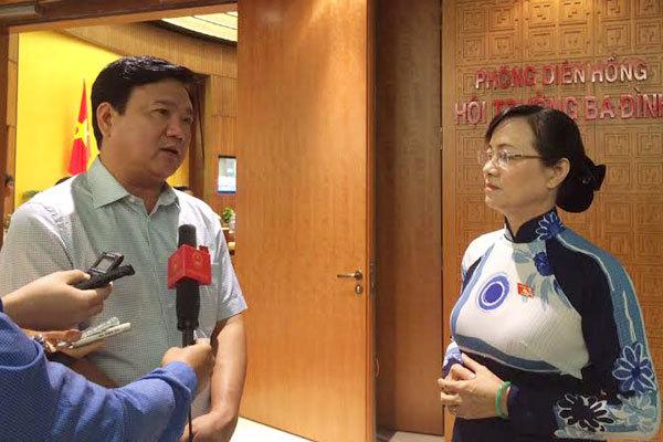 Đinh La Thăng, phí xe máy, Nguyễn Thị Quyết Tâm
