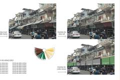 Dân phố cổ Hà Nội đua nhau chế bạt chống nóng