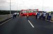 Xe khách mất phanh trên cao tốc, 13 người bị thương